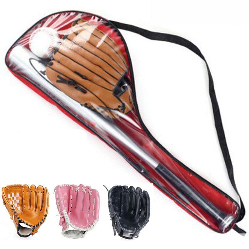 1 компл. Здоровый Спорт Мягкие Бейсбол bat перчатки и мяч комплект для детей 61 см софтбол перчатки для образования детей спортивные Игрушечны...