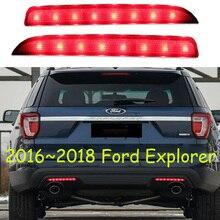 2 шт. задний фонарь Explorer задний бампер противотуманных фар рефлектор светодиодной лампы стоп для 2016 2017 2018 год автомобиля интимные аксессуары
