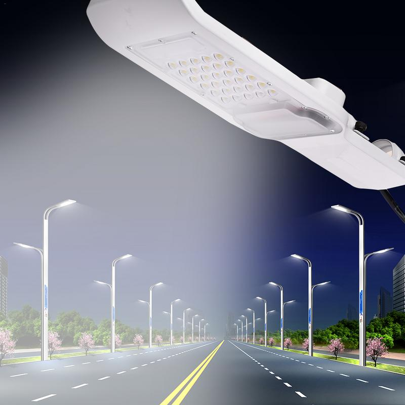Waterproof IP65 30W/50W Led Light Street Lamp Head Aluminum Outdoor Road Lamp Led Street Flood Light Garden Spot Lamp AC85-265V