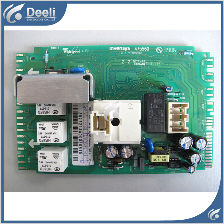 original for Washing Machine computer board WFS1071CW WFS1071CS 46197041724 Z52726AA wire universal board computer board six lines 0040400256 0040400257 used disassemble
