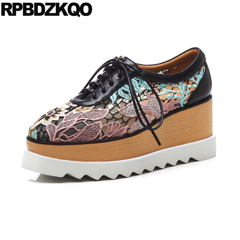 embroidery pink floral navy blue mesh flower european harajuku wedge hollow out designer shoes women luxury 2019 embroideredembroidery pink floral navy blue mesh flower european harajuku wedge hollow out designer shoes women luxury 2019 embroidered