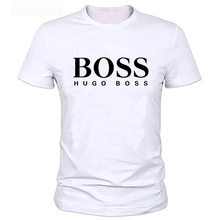Boss Customs Brand Logo/Picture T Shirt Men High quality