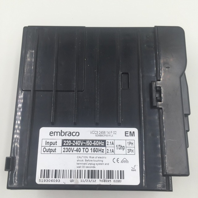 Embraco Compressor Electronic Control Unit Vcc3 1156 08 A 02
