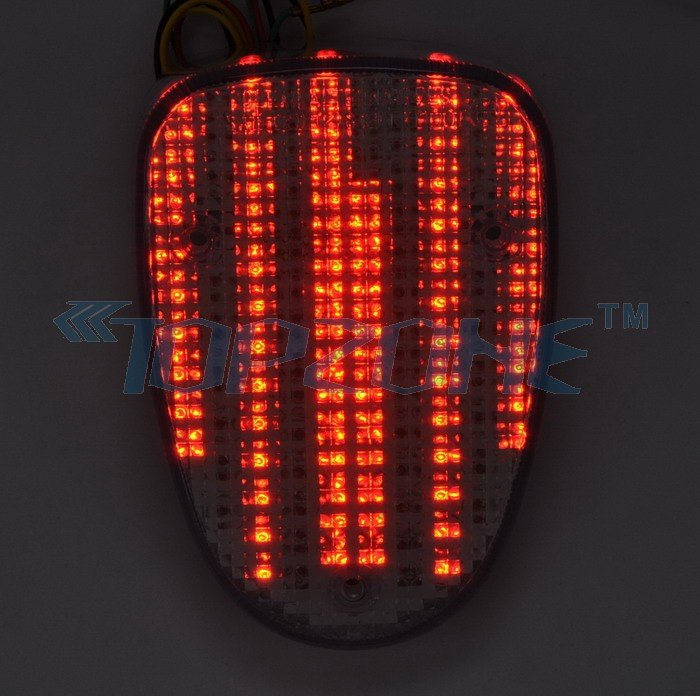 Integrated LED Turn Signal Tail Light For Yamaha Road//Royal Star V Star Classic