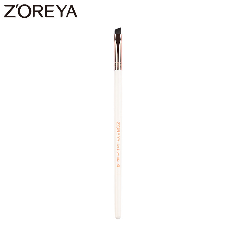 Zoreya Brand2017 New arrive Eye Brow Make up brush synthetic hair brush Oblique Design Eyebrow Cosmetic Brush