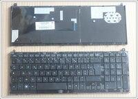 Novo FR teclado Para HP probook 4520 4520 s 4525 s 4525 com Moldura Preta Teclado Do Laptop Francês
