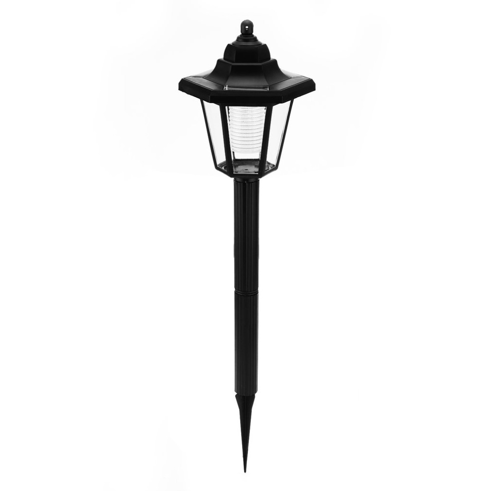 Outdoor Garden Solar Light Energy-saving Waterproof Hexangular Lawn Lamp With Super Bright LED Lighting For Fence Path Street