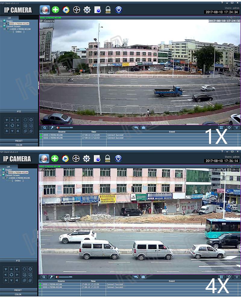 Zoom PTZ outdoor camera 16