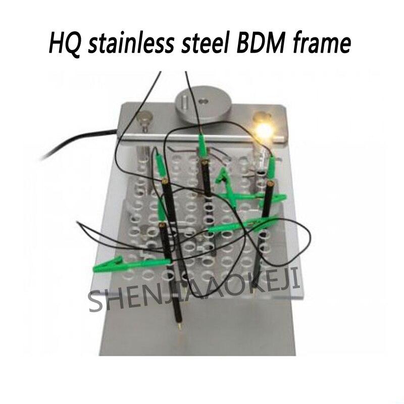 HQ Stainless Steel BDM Frame for BDM Programmer /CMD100/KESS V2/Ktag /Fgtech LED BDM framework 1pcHQ Stainless Steel BDM Frame for BDM Programmer /CMD100/KESS V2/Ktag /Fgtech LED BDM framework 1pc