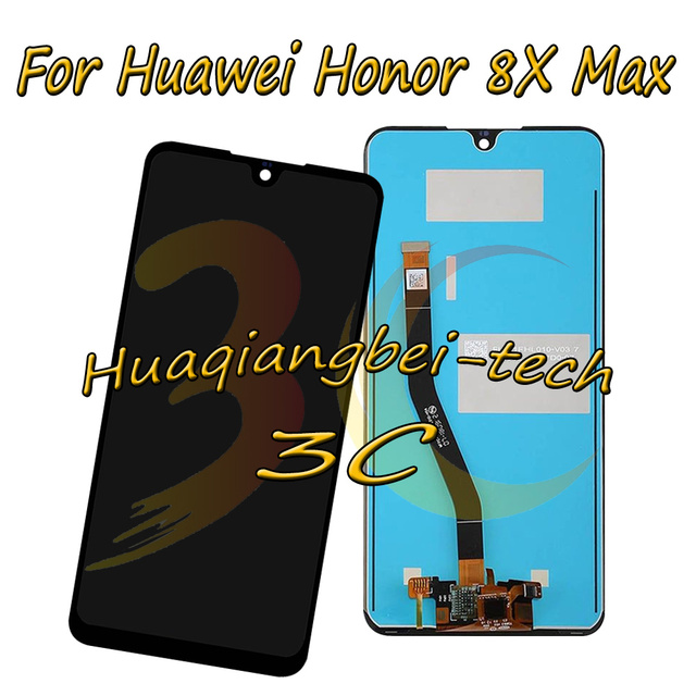 7.12 Nuovo Per Huawei Honor 8X Max SD636/SD660 ARE AL00 DIsplay LCD Full + Touch Screen Digitizer Assembly 100% Testato