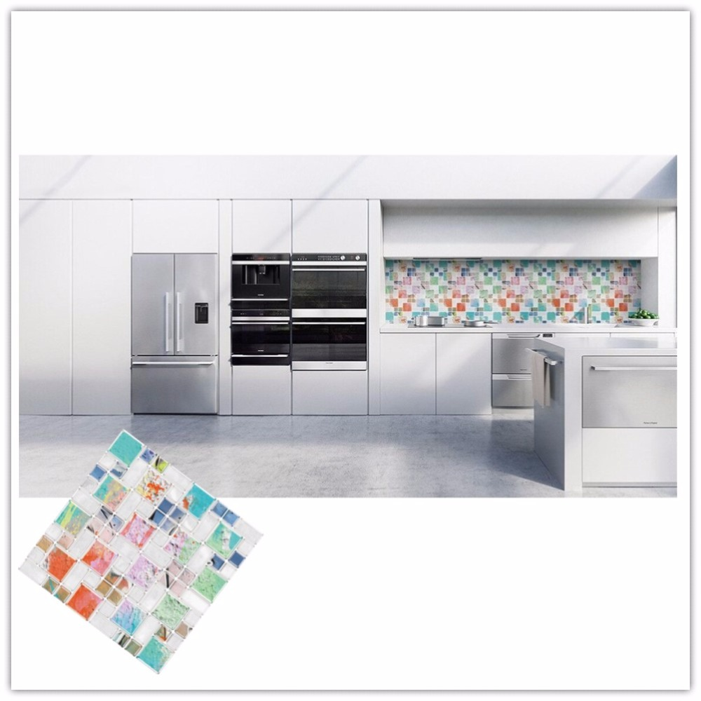 Popular Adhesive Tiles Backsplash-Buy Cheap Adhesive Tiles ...