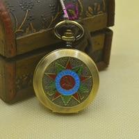 Bán buôn Nga Vingtage Bronze Xô BOLSHEVIK Cơ FOB Pocket Watch Mens Quân Mặt Dây Chuyền Đồng Hồ retro cổ gi