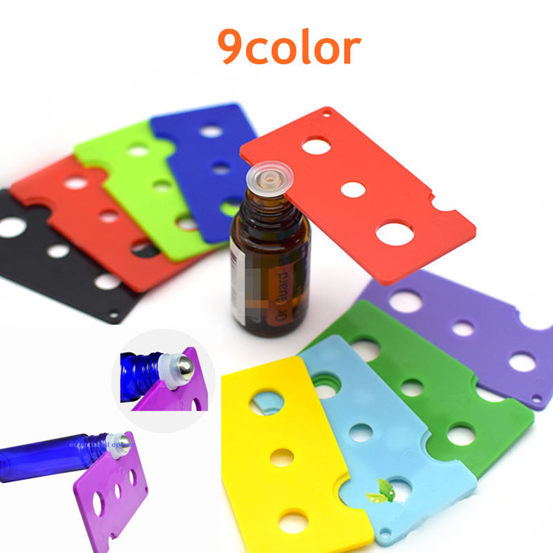 1PC 9Colors Essential Oil Bottle Opener Key Tool Remover For 1ml 2ml 5ml 10ml -100ml Roller Balls And Caps Bottles