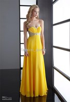 Free Shipping 2013 Fashion Sheath Column Sweetheart Fold Beaded Chiffon Rhinestone Evening Dress