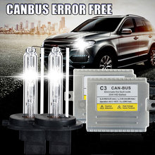 Super slim high quality canbus HID kit C3 35W HID xenon Ki H3 , solve cars error warning with EMC,xenon h3
