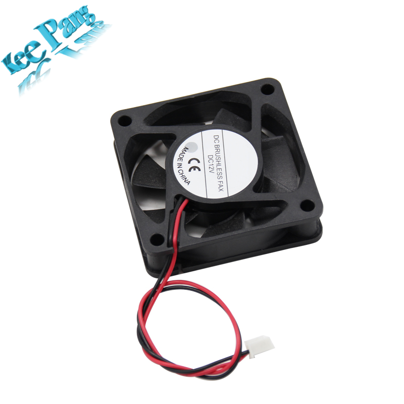 New 6015 Cooling Fan 12 Volt 60mm 3D Printers Parts 3 pin Brushless 6CM DC Fans Cooler Radiator Part Quiet Accessory 60*60*15 mm 120x120x25mm 12025 fans 12 volt 2pin brushless 12cm dc fans chassis fan cooler cooling radiator