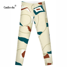 2016 new  Sailing and flagFashion Plus Size Sexy Extra-terrestrial Digital Printing Fitness LEGGINGS S-4XL Drop Shipping