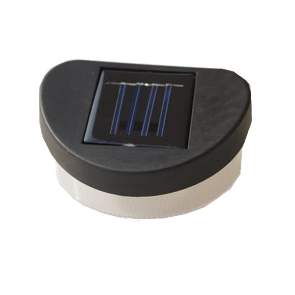 Neuankommling 2 Leds Solarpanel Treppe Zaun Leuchten Fur Den