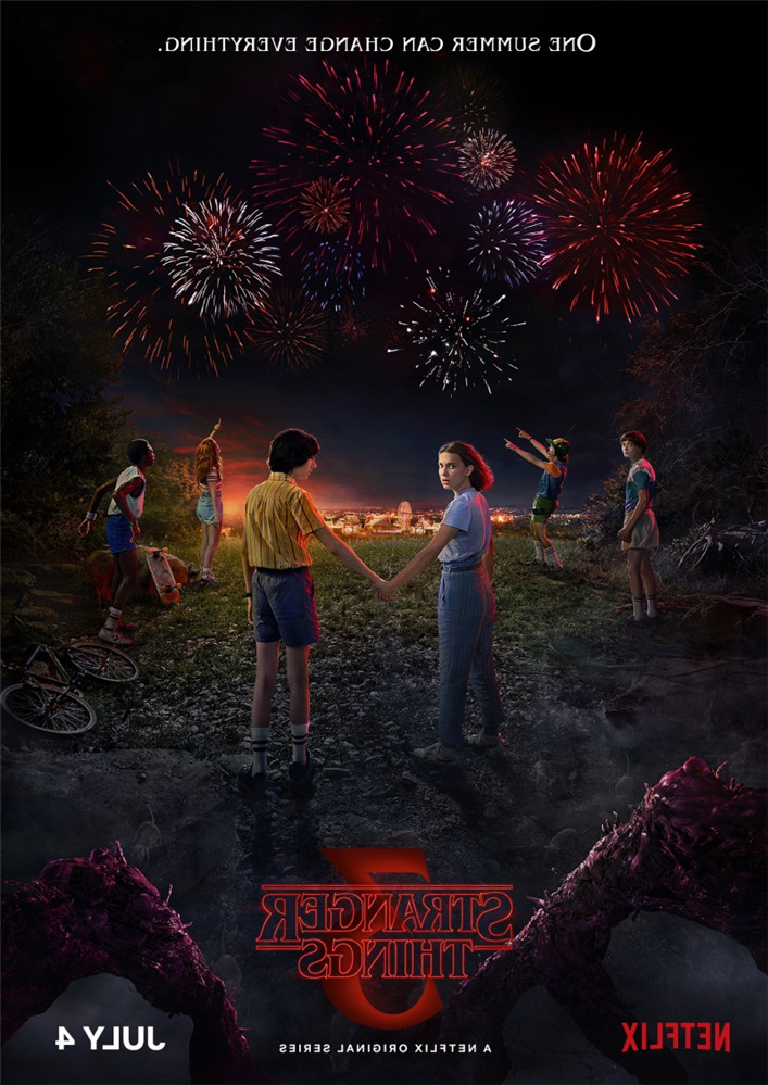 Stranger Things Season 3 Posters 13 Characters Glossy Paper Prints Vivid Color Home Art Decoration