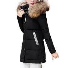 Women Slim Hooded Down Long Winter Warm Parka Outwear Jacket Coat 17Oct26
