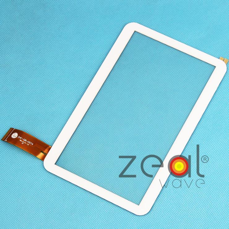 5 pcs * 7 Inch Touch Screen Digitizer Glass Lens Panel 170*110cm For zhc-q8-057a Tablet PC 170*110cm White