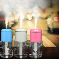 Mini Air Humidifier USB Humidifier Essential Oil Diffuser Outlet Aromatherapy Spray Machine Household Air Humidifier 180mL