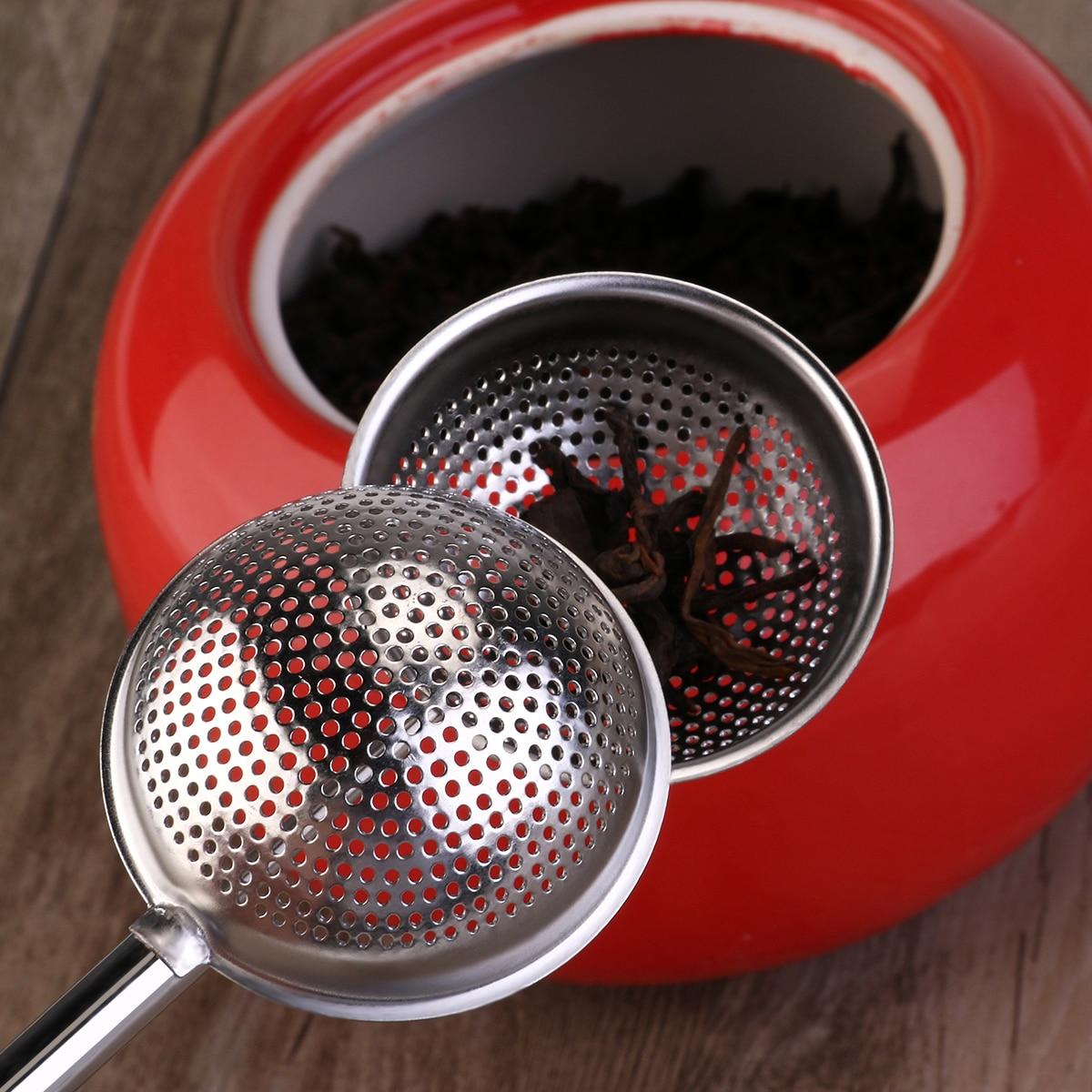 Ērta tējas lodītes nerūsējošā tērauda tējas infūzija - Virtuve, ēdināšana un bārs