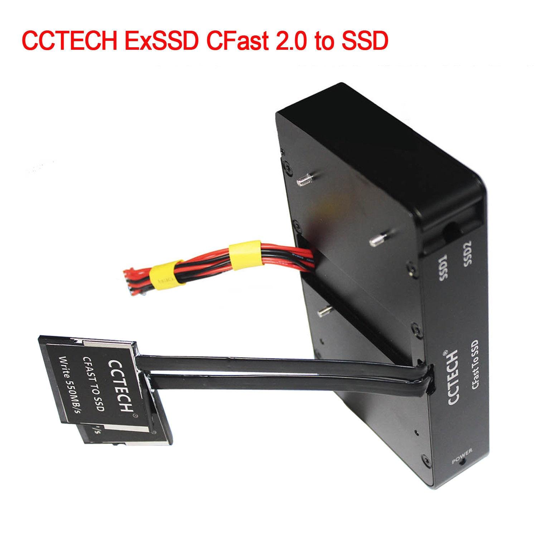 CCTECH ExSSD CFast 2.0 to SSD BMD Camera Storage Solution Recorder URSA Mini4.6K