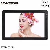 LEADSTAR 12 Inch DVB T T2 Digital Analog Television 1280x800 Resolution Color NTSC 50Hz Portable Car