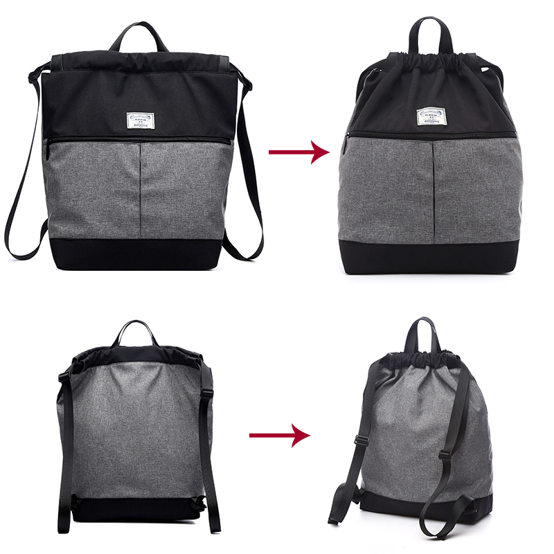 Купить с кэшбэком TUGUAN Brand casual women daily backpack men canvas bag style student school bag travel casual backpack Laptop bagpack women bag