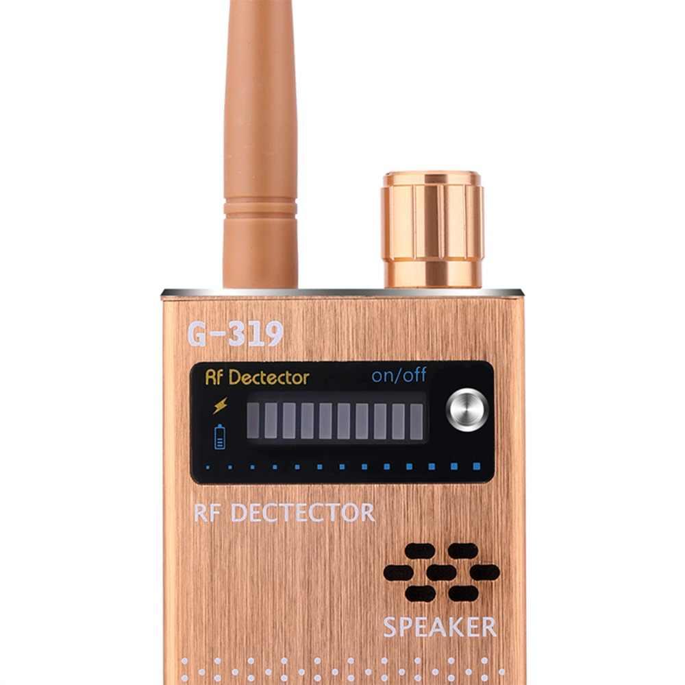 Super Anti-spy draadloze Bug Detector RF Signaal Detector GSM Luisteren Apparaat Finder Radar Radio Scanner Draadloze Signaal Alarm