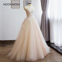 Vestido De Noiva Princess Style Boho Lace Bohemian Wedding Dress 2017 Bride Dress Simple Bridal Gown
