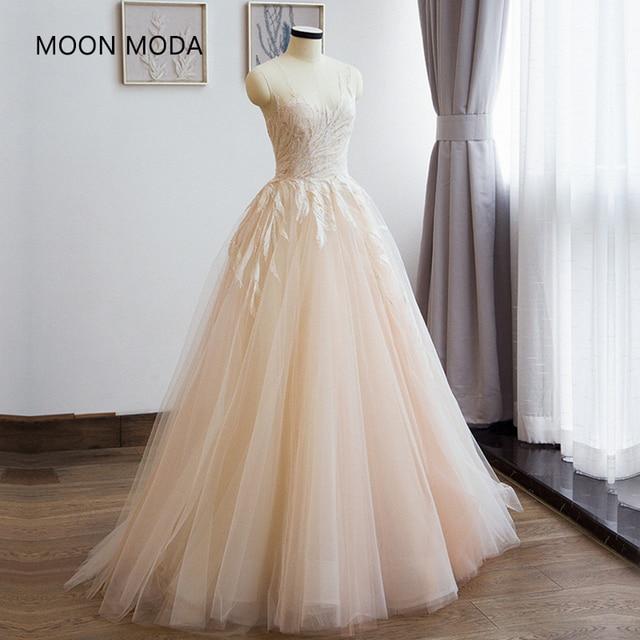 Us 122 0 Vestidos De Noiva Boho Lace Mermaid Wedding Dress 2018 Bride Dress Simple Bridal Ball Gown Real Photo Weddingdress Luxury 2017 In Wedding
