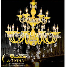 af35e3947e Popular Yellow Crystal Chandelier-Buy Cheap Yellow Crystal ...