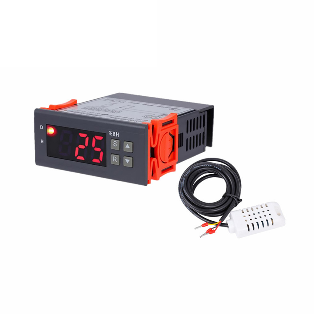 MH13001 AC220V Digital Air Humidity Controller 1%RH - 99%RH Hygrostat Humidistat Humidification Dehumidification Tool