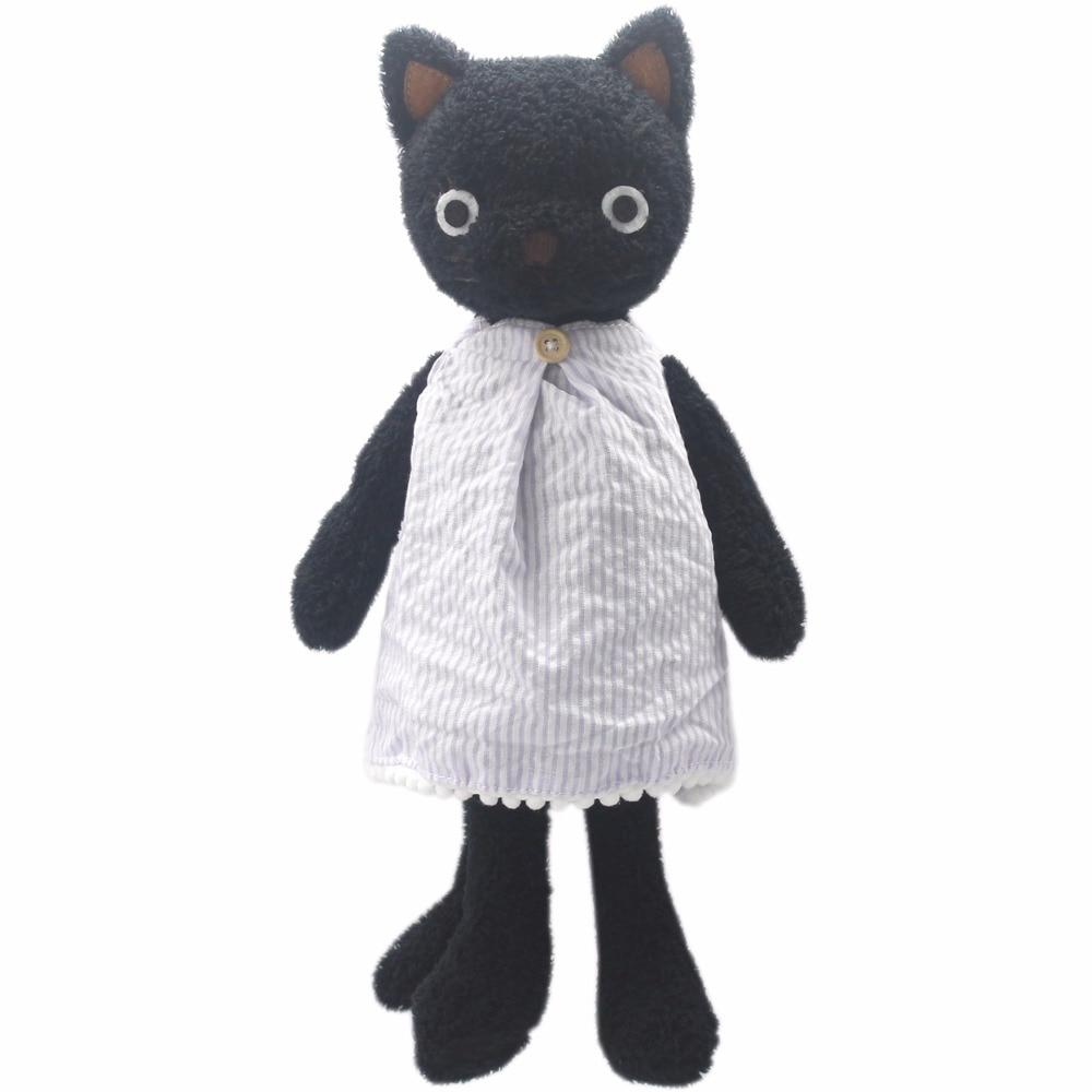 JESONN puha plüss játékok Öltözött babák töltött állatok macskák a baba és a gyerek születésnapi ajándékok