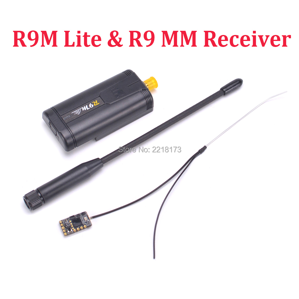 Frsky R9M / R9M Lite Module + Mini R9 MM 900MHz Receiver combo RSSI Output Long Range Distance 4/19CH Telemtry Receiving Board