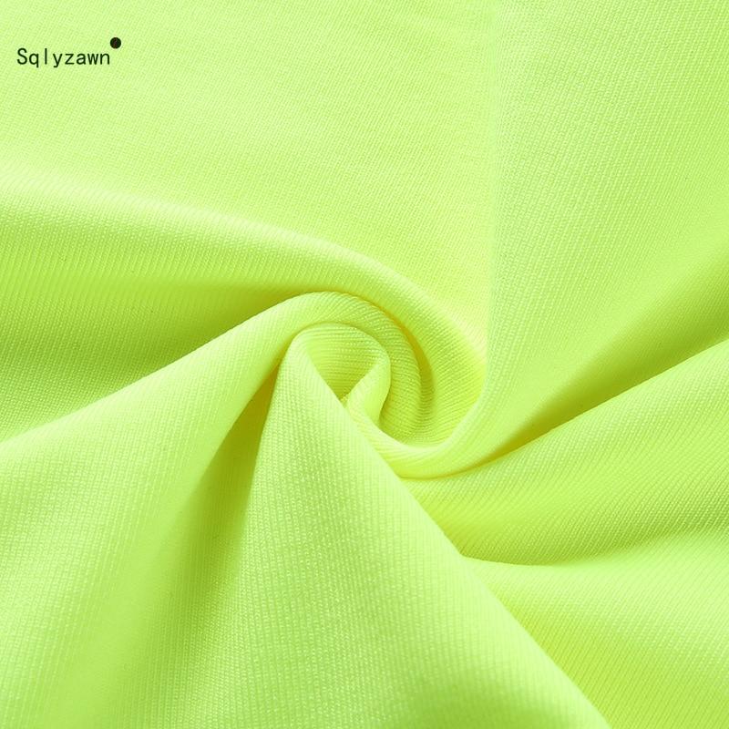 Sexy Fluorescent Green Pink Spaghtetti Strap Crop Tops Summer Harajuku Solid Slash Neck Camis Women Neon