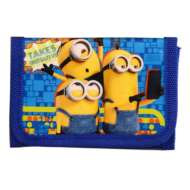 Fashion Cartoon Coin Purse Children Zip Change Purse Wallet Movie Minions Despicable Me Kids Girl Women Pouch Bolsa