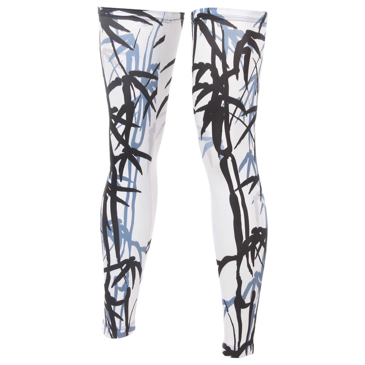 BOODUN Ink Painting Of Bamboo Riding Leg Set Cycling Outdoors Sunscreen Leg Set Bicycle Motion Defence Leggings Set