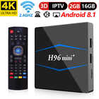 H96 mini plus Intelligent Android 8.1 TV Box RK3229 Quad Core 4 k USB2.0 2 gb 16 gb Miracast WiFi TV Box android PK X96 X96 MINI