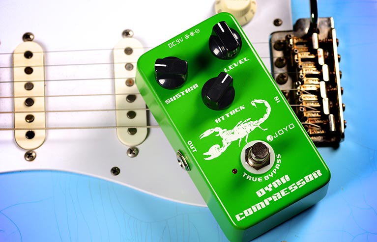 Joyo JF-10 Dyna Compressor Guitar Effect Pedal with Free Pedal Case