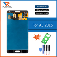 100 Super Amoled For Samsung Galaxy A5 2015 A500 A500F A500FU A500H LCD Display Touch Digitizer