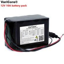 VariCore 大容量 12 ボルト 10Ah 18650 リチウム充電式バッテリー 12 ボルト 10000 mah のための bms と 75 ワット LED ランプキセノン ue