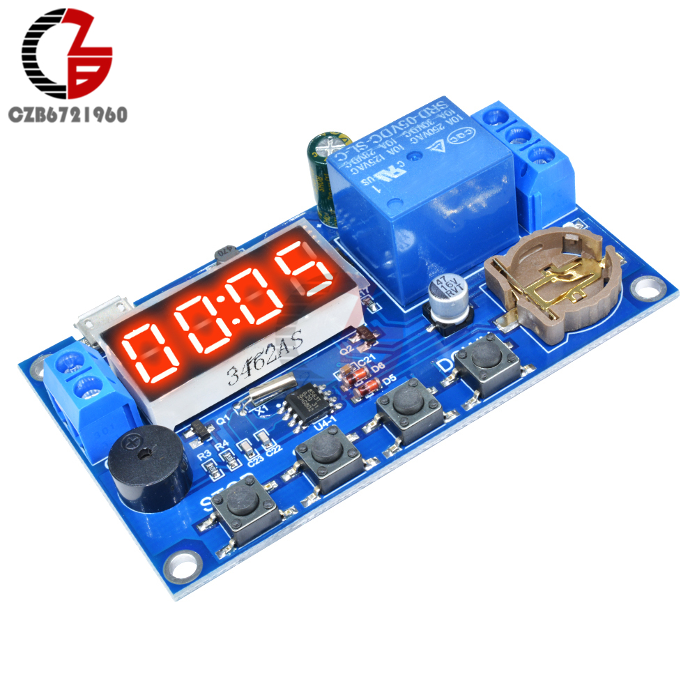 Real Time Delay Relay Module Timer Control Switch Timing