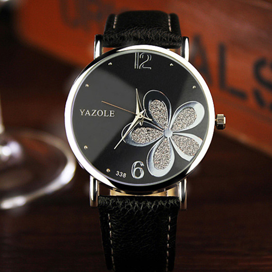 5c8747eb18 YAZOLE Flower Quartz Watch Women Watches 2018 Brand Luxury Fashion Female  Clock Wrist Watch Ladies Montre Femme Relogio Feminino-in Women's Watches  from ...