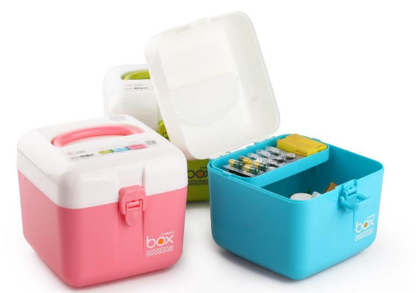 Household Small Baby Medicine Chest / Outdoor Portable Emergency Medicine  Chest / Household Organize Storage Box