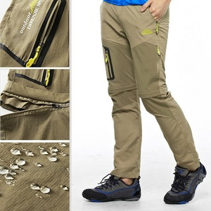 Image 5 - NUONEKO Quick Dry Removable Hiking Pants Outdoor 6XL Mens Summer Breathable Shorts Men Mountain Camping Trekking Trousers PN09