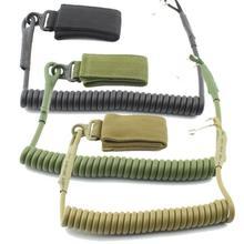 1 шт. Новая Черная зеленая грязевая уличная тактическая веревка с одной точкой, регулируемая пружина, рециркулирующая Сумка-ремень, Веревка безопасности, ремни безопасности
