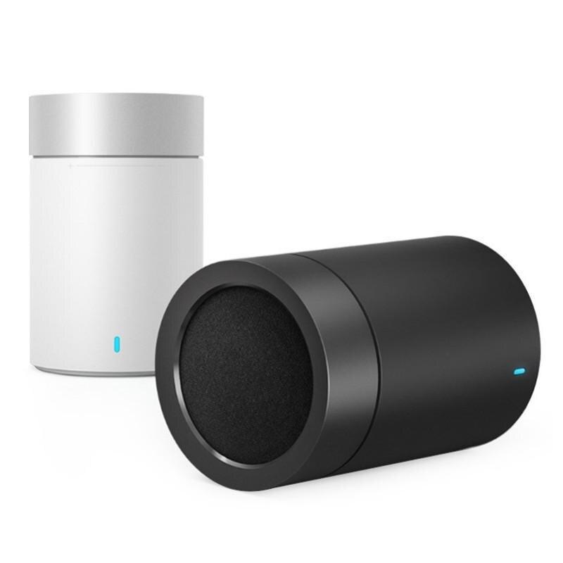 Haut-parleur d'origine Xiao mi haut-parleur Bluetooth sans fil rond 1200 mAh haut-parleur mains libres avec mi c